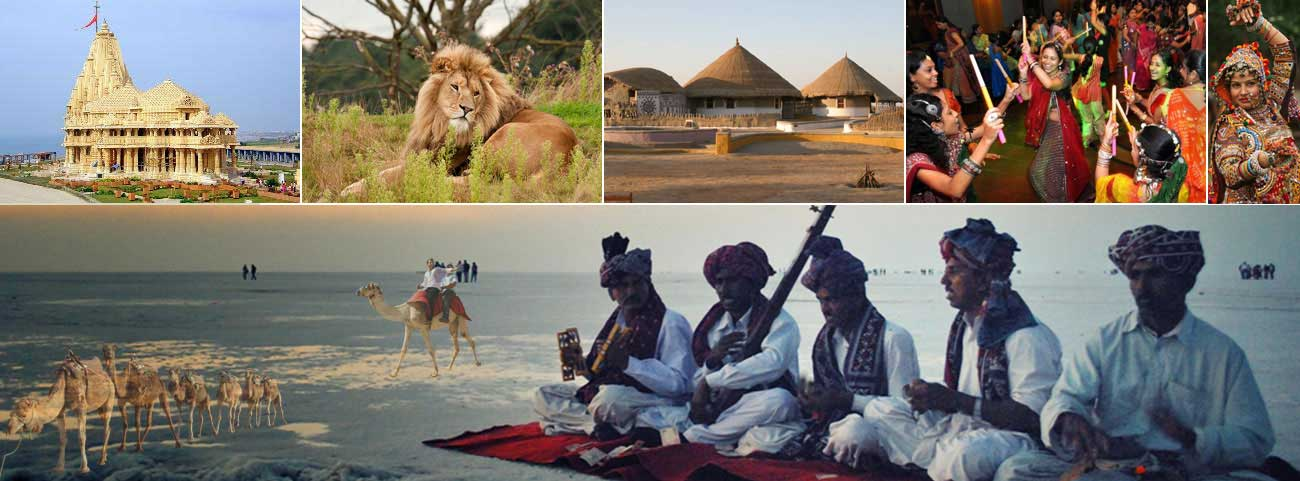 Top tourist destination Gujarat